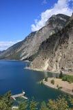 冰川湖 免版税图库摄影