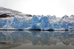 冰川灰色 免版税库存图片