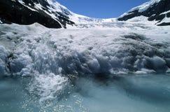 冰川熔化 库存图片