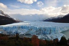 冰川莫尔诺 库存图片