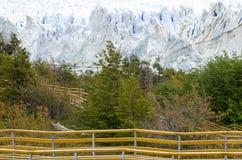 冰川莫尔诺perito 阿根廷巴塔哥尼亚 图库摄影