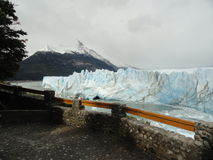 冰川莫尔诺perito 免版税图库摄影