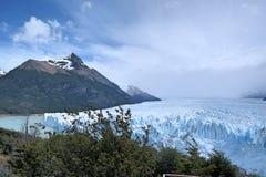 冰川莫尔诺perito 库存图片