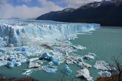 冰川莫尔诺perito 免版税库存图片