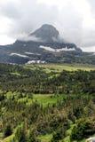 冰川蒙大拿公园 免版税库存图片