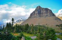 冰川蒙大拿国家公园美国 库存图片