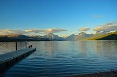 冰川蒙大拿国家公园美国 免版税图库摄影