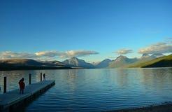 冰川蒙大拿国家公园美国 免版税库存照片
