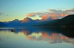 冰川蒙大拿国家公园美国 免版税库存图片