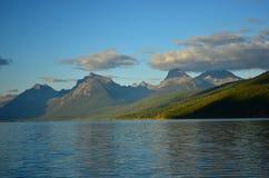 冰川蒙大拿国家公园美国 库存照片