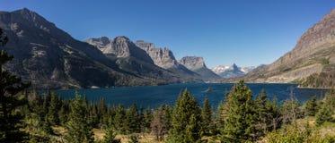 冰川蒙大拿国家公园 免版税库存照片