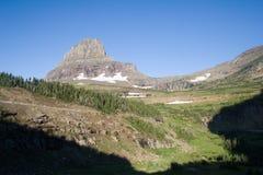 冰川蒙大拿国家公园 库存照片