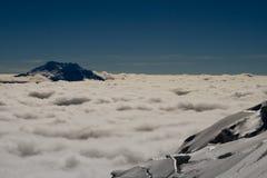 冰川视图 免版税库存图片