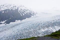冰川运动 库存图片