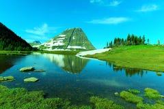 冰川风景 免版税图库摄影