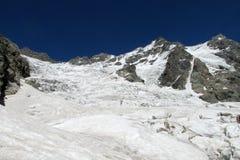 冰川风景 免版税库存图片