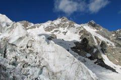 冰川风景 库存照片