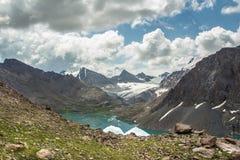 冰川1的反射 库存图片