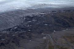 冰川2的死亡 库存照片