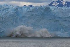 冰川9 免版税库存图片