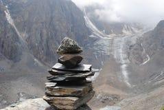 冰川Akturu 免版税库存图片