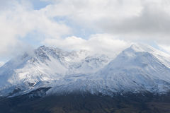 冰川helens挂接圣徒顶层 免版税库存照片