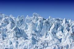 冰川hubbard 免版税库存照片