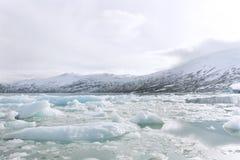 冰川jostedalsbreen 库存照片