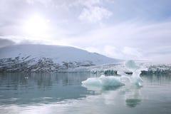 冰川jostedalsbreen 免版税图库摄影
