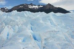 冰川Perito莫尔诺,巴塔哥尼亚,阿根廷 免版税库存照片
