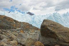 冰川Perito莫尔诺,巴塔哥尼亚,阿根廷 图库摄影