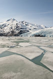 冰川portage 库存图片