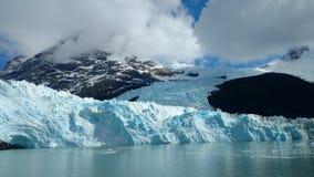 冰川Spegazzini 图库摄影