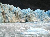 冰川upsala 免版税库存照片