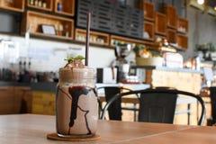 冰巧克力 免版税库存照片