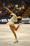 冰意大利人溜冰者 免版税库存图片