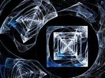冰或玻璃片断  库存例证