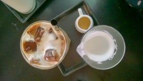 冰拿铁coffe 免版税库存图片