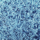 冰晶的模式 图库摄影