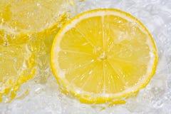 冰柠檬 免版税库存照片