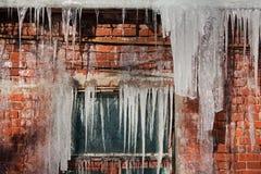 冰柱 库存照片