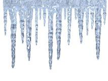 冰柱 免版税库存图片