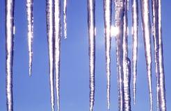 3冰柱 库存图片
