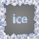 冰框架传染媒介 向量例证