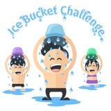 冰桶挑战 免版税图库摄影