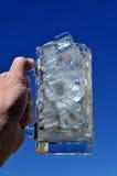 冰水罐 库存照片