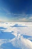 冰沙漠 库存照片