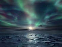 冰沙漠 免版税库存照片