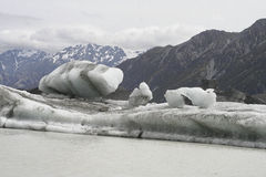 冰河冰山 免版税图库摄影