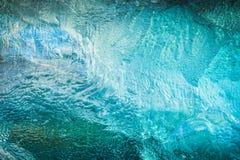 冰河冰纹理 库存图片